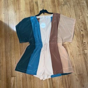 NEW w/ tags Colorful Romper - Snookie Store
